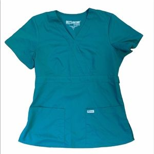 Greys anatomy by Barco green top Small